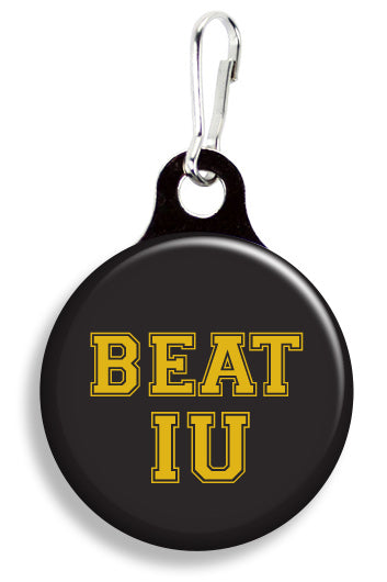 Purdue Beat IU - Fetch Life Pet Outfitters Dog & Cat Collar Clips