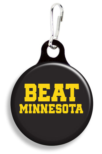 Iowa Beat Minnesota - Fetch Life Pet Outfitters Dog & Cat Collar Clips