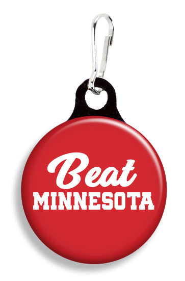Wisconsin Beat Minnesota - Fetch Life Pet Outfitters Dog & Cat Collar Clips