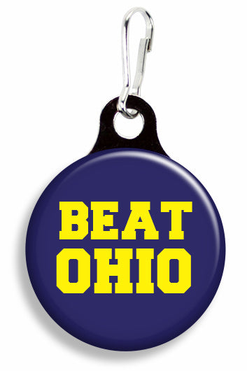 Michigan Beat Ohio - Fetch Life Pet Outfitters Dog & Cat Collar Clips