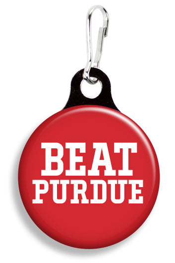 IU Beat Purdue - Fetch Life Pet Outfitters Dog & Cat Collar Clips
