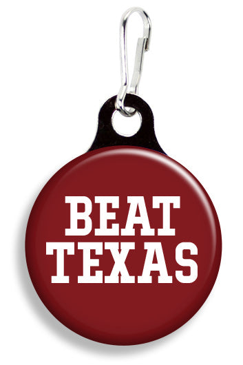 Oklahoma Beat Texas - Fetch Life Pet Outfitters Dog & Cat Collar Clips