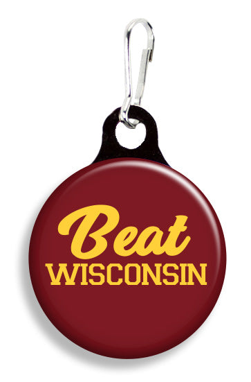 Minnesota Beat Wisconsin - Fetch Life Pet Outfitters Dog & Cat Collar Clips