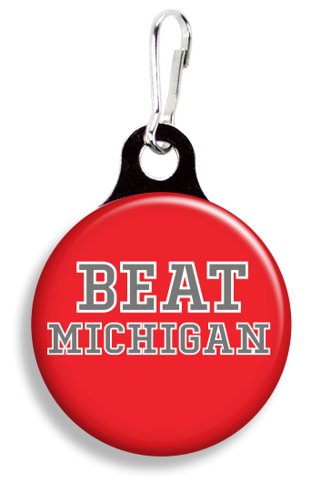 OSU Beat Michigan - Fetch Life Pet Outfitters Dog & Cat Collar Clips