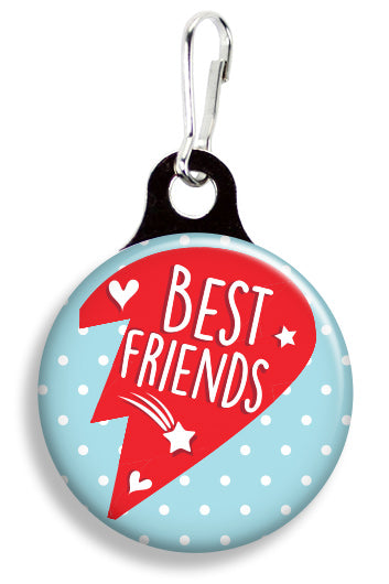 Best Friends Heart Right - Fetch Life Pet Outfitters Dog & Cat Collar Clips