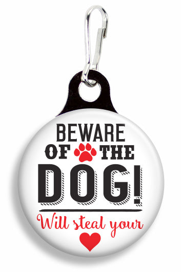 Beware of the Dog - Fetch Life Pet Outfitters Dog & Cat Collar Clips