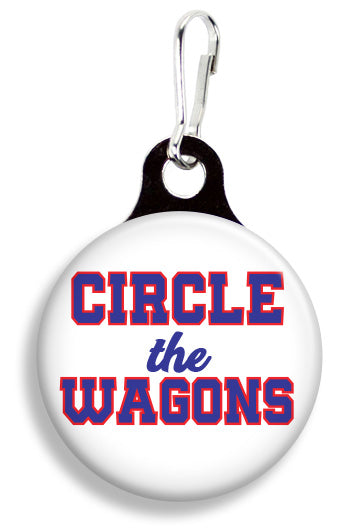 Buffalo Circle the Wagons - Fetch Life Pet Outfitters Dog & Cat Collar Clips