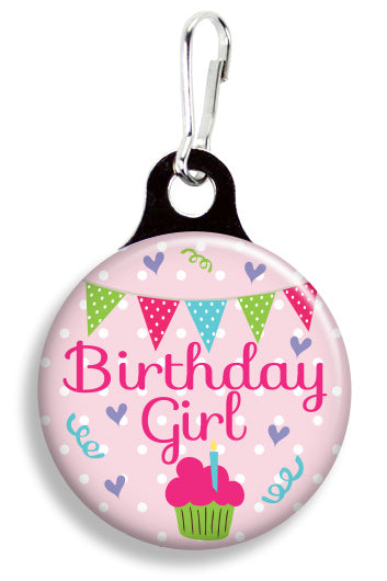Birthday Girl - Fetch Life Pet Outfitters Dog & Cat Collar Clips