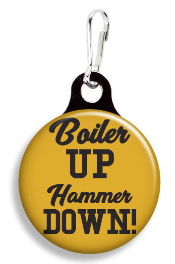 Purdue Boiler Up - Fetch Life Pet Outfitters Dog & Cat Collar Clips