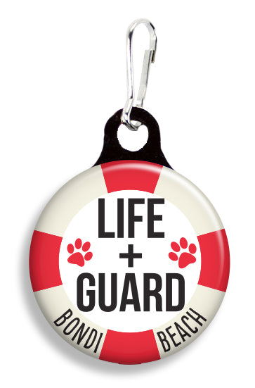 Bondi Beach Lifeguard - Fetch Life Pet Outfitters Dog & Cat Collar Clips