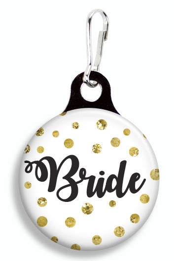 Glitter Bride - Fetch Life Pet Outfitters Dog & Cat Collar Clips