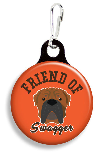 Browns Friend of Swagger - Fetch Life Pet Outfitters Dog & Cat Collar Clips