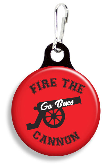 Tampa Bay Fire the Cannon Bucs - Fetch Life Pet Outfitters Dog & Cat Collar Clips