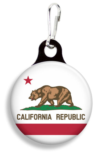 California Flag - Fetch Life Pet Outfitters Dog & Cat Collar Clips