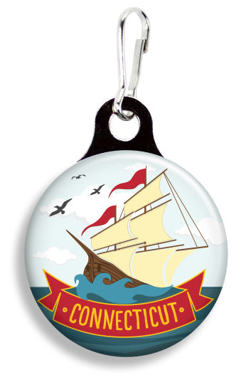 Connecticut Sailor - Fetch Life Pet Outfitters Dog & Cat Collar Clips