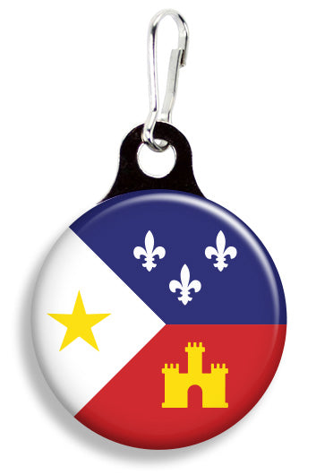 Cajun Flag - Fetch Life Pet Outfitters Dog & Cat Collar Clips