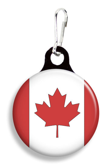 Canadian Flag - Fetch Life Pet Outfitters Dog & Cat Collar Clips