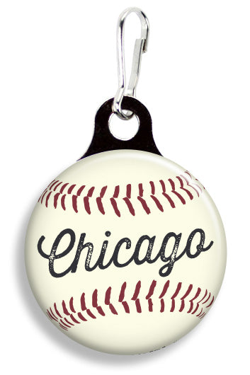 Chicago Baseball - Fetch Life Pet Outfitters Dog & Cat Collar Clips