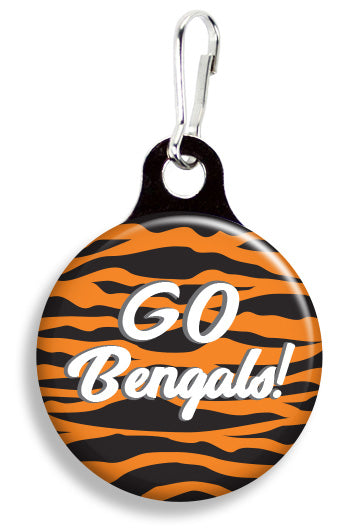 Cincinnati Go Bengals - Fetch Life Pet Outfitters Dog & Cat Collar Clips