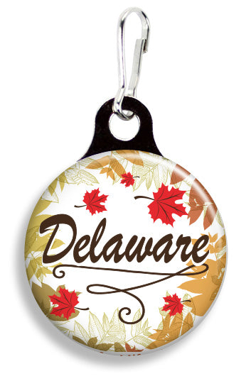Delaware Leaves - Fetch Life Pet Outfitters Dog & Cat Collar Clips