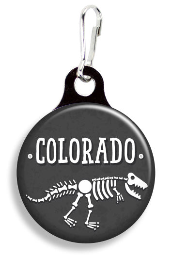 Colorado Dinosaurs - Fetch Life Pet Outfitters Dog & Cat Collar Clips