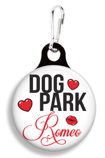 Dog Park Romeo - Fetch Life Pet Outfitters Dog & Cat Collar Clips