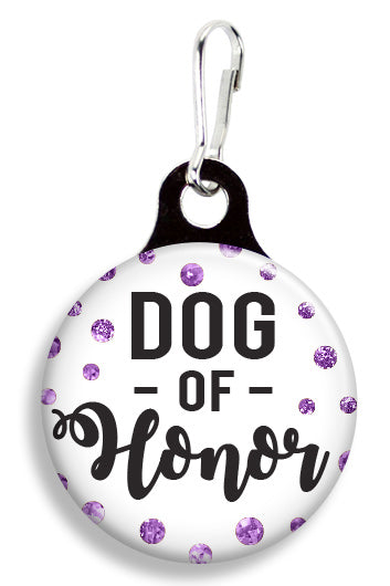 Glitter Dog of Honor - Fetch Life Pet Outfitters Dog & Cat Collar Clips