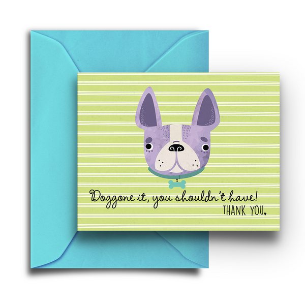 Doggone It Boxed Thank You Notes - Fetch Life Pet Outfitters Dog & Cat Collar Clips