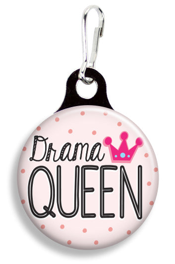 Drama Queen - Fetch Life Pet Outfitters Dog & Cat Collar Clips