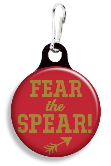 FSU Fear the Spear - Fetch Life Pet Outfitters Dog & Cat Collar Clips