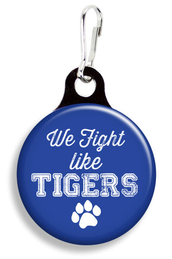 Memphis Fight Like Tigers - Fetch Life Pet Outfitters Dog & Cat Collar Clips