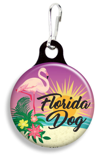 Florida Flamingo - Fetch Life Pet Outfitters Dog & Cat Collar Clips