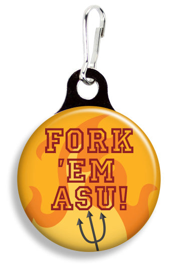 ASU Fork 'Em - Fetch Life Pet Outfitters Dog & Cat Collar Clips