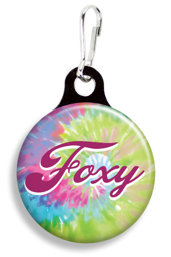 Foxy Tie Dye - Fetch Life Pet Outfitters Dog & Cat Collar Clips