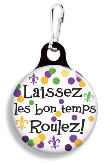 Laissez Les Bon Temps - Fetch Life Pet Outfitters Dog & Cat Collar Clips