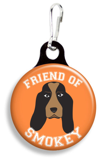 Tennessee Friend of Smokey - Fetch Life Pet Outfitters Dog & Cat Collar Clips