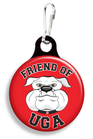 UGA Friend of Uga - Fetch Life Pet Outfitters Dog & Cat Collar Clips