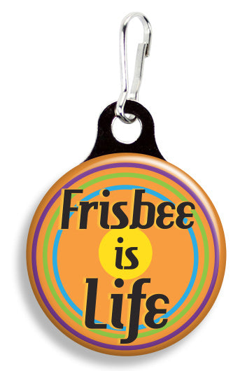 Frisbee Is Life - Fetch Life Pet Outfitters Dog & Cat Collar Clips
