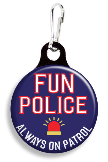 Fun Police - Fetch Life Pet Outfitters Dog & Cat Collar Clips