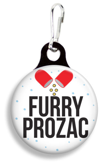 Furry Prozac - Fetch Life Pet Outfitters Dog & Cat Collar Clips