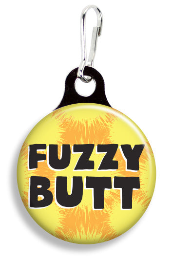 Fuzzy Butt - Fetch Life Pet Outfitters Dog & Cat Collar Clips