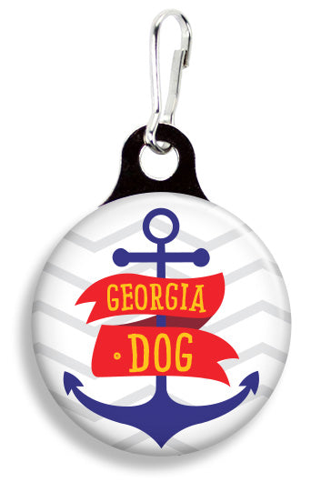 Georgia Dog - Fetch Life Pet Outfitters Dog & Cat Collar Clips