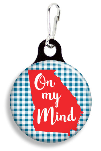 Georgia on my Mind - Fetch Life Pet Outfitters Dog & Cat Collar Clips