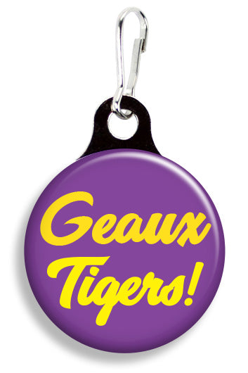 LSU Geaux Tigers - Fetch Life Pet Outfitters Dog & Cat Collar Clips