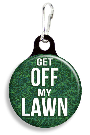Get Off My Lawn - Fetch Life Pet Outfitters Dog & Cat Collar Clips