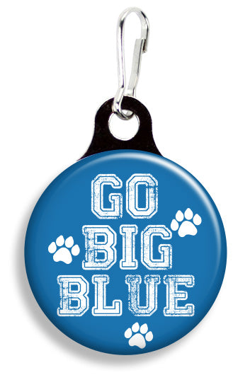 UK Go Big Blue - Fetch Life Pet Outfitters Dog & Cat Collar Clips