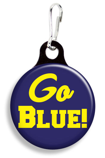 Michigan Go Blue - Fetch Life Pet Outfitters Dog & Cat Collar Clips