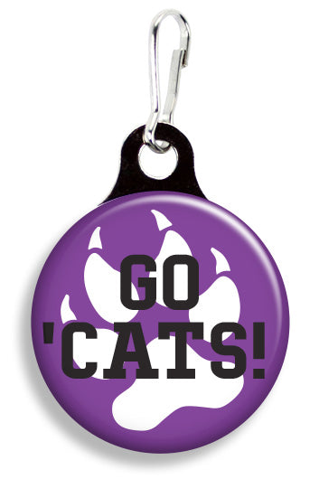 Northwestern Go 'Cats - Fetch Life Pet Outfitters Dog & Cat Collar Clips