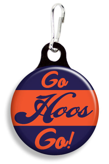 UVA Go Hoos Go - Fetch Life Pet Outfitters Dog & Cat Collar Clips