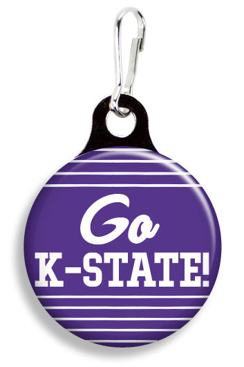 K State Go - Fetch Life Pet Outfitters Dog & Cat Collar Clips